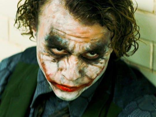 "Heath Ledger won a posthumous Oscar for his role as the Joker in Christopher Nolan's ""The Dark Knight."""