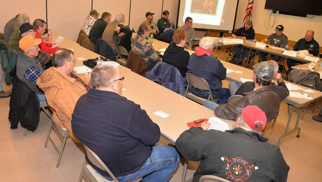 Hunters shared their questions and concerns with Waupaca County's deer advisory council during a Dec. 18 meeting in Manawa.