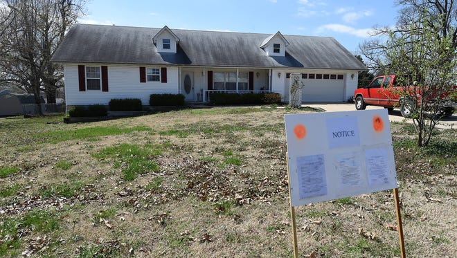 This house at 79 Crest Way in Gassville will be auctioned at 10 a.m. Monday to satisfy a $75,000 judgment against Affordable Bail Bonds, Inc. The Mountain Home company lost an appeal to the state Supreme Court and will lose the property that was used as collateral in a bond forfeiture case.