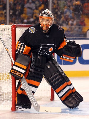 The Philadelphia Flyers and goalie Michal Neuvirth (30) have reportedly agreed to a two-year extension.