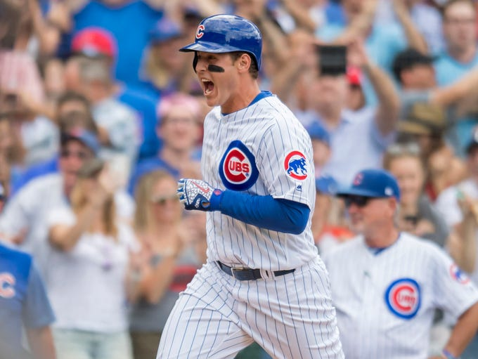 Jul 26, 2018: Chicago Cubs first baseman Anthony Rizzo