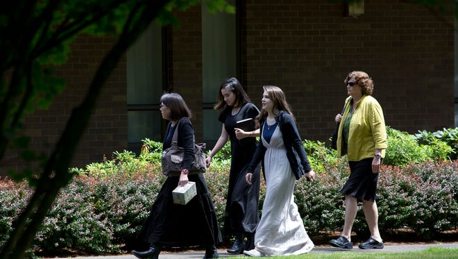 A funeral service for Jared Padgett was held Monday, June 16, 2014, at the Church of Jesus Christ of Latter-Day Saints in Gresham, Ore.