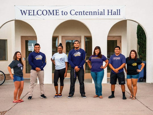 The Residence Hall Association at WNMU helps students adjust to life on campus. RHA members include, from left, Tianna Zambrano, Manny Moreno, Crystal Hall, Jorge Rodriguez, Jessica Dominguez, Josh Revilla and Dayana Baez. Courtesy Photos