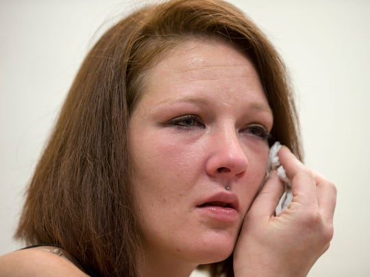 Kristen Cebada, a former heroin user, is a resident