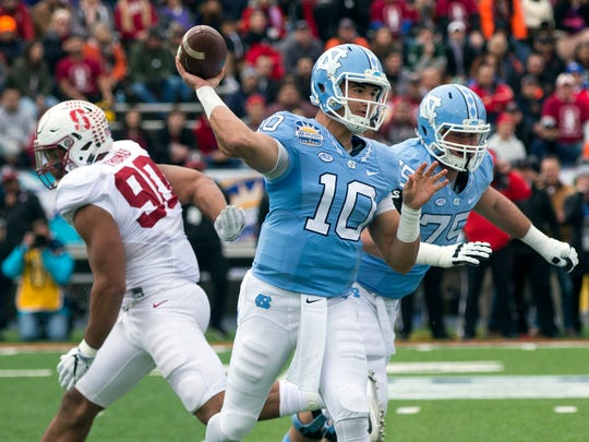 The rumor mill was grinding this week, linking the Bills to North Carolina's Mitch Trubisky.