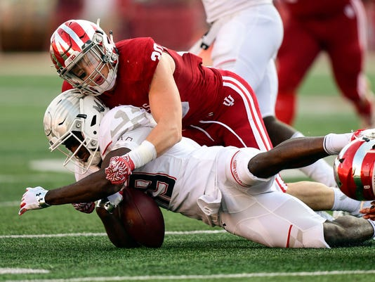 NCAA Football: Maryland at Indiana