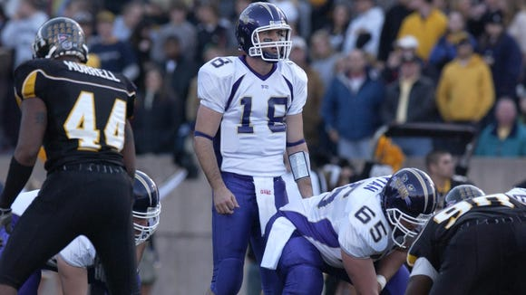 Former Western Carolina University quarterback Justin Clark is the new football coach at North Henderson.