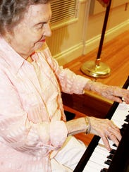 Nelva O'Dell, a resident at The Glen Retirement System,