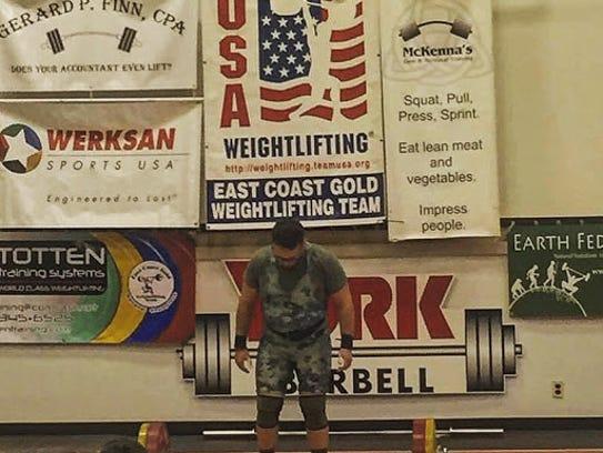 Navy Reserve Corpsman Erick Huertas Brings Olympic