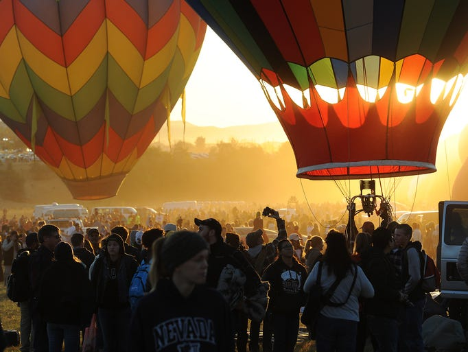 Day 2 of the Great Reno Balloon Race in Rancho San