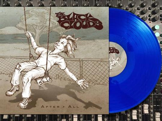 "The Black Clouds are releasing a limited translucent blue vinyl edition of their third album, ""After All."""