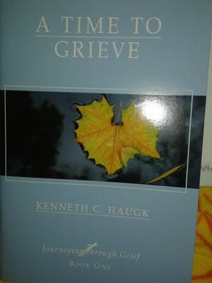 The South Carolina Department of Public Safety said Thursday it would no longer hand out copies of 'A Time to Grieve' after an Anderson resident complained about the book's religious content.