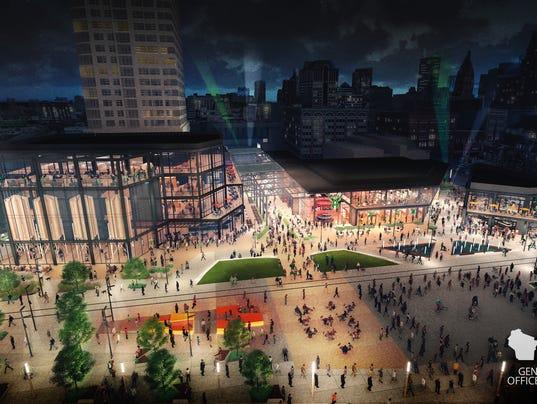 Bucks entertainment plaza