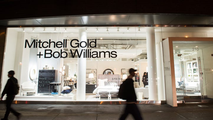 High-end furniture retailer Mitchell Gold + Bob Williams could open a store in Sycamore Township at the Kenwood Collection development.