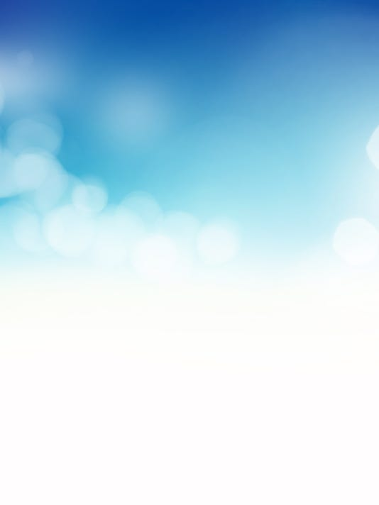 Beautiful soft blue abstract background