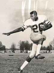 Nate Northington strikes a pose in this 1964 file photo.