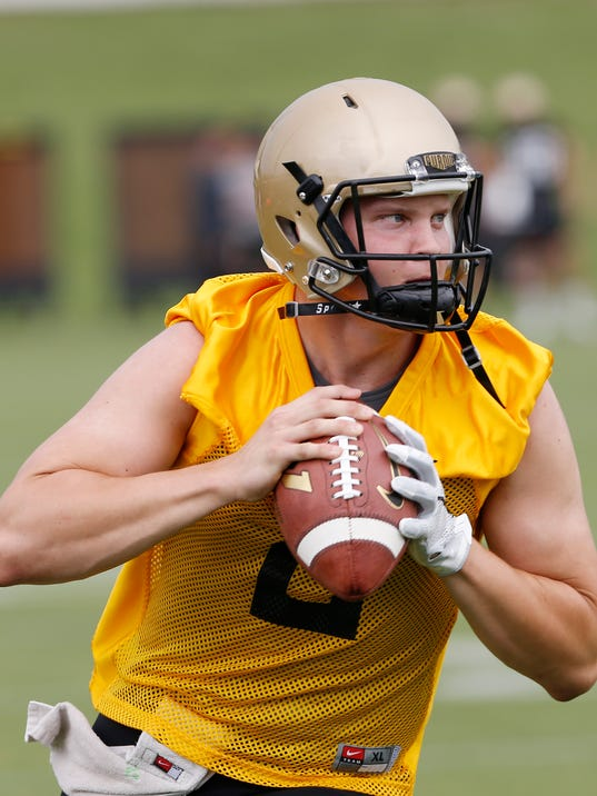 LAF Purdue football practice Aug. 3