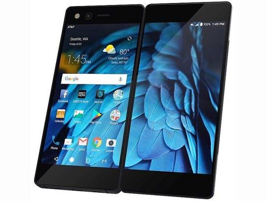The ZTE Axon M smartphone.