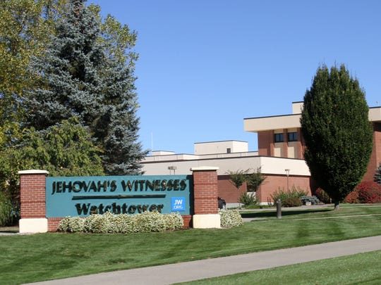 The Jehovah's Witnesses' Watchtower Farm complex in