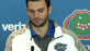 Grier at the press conference