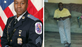 Officer pictured on the left and missing man pictured