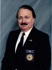 Stony Point's first police chief, Stephen Scurti, who