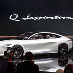 Infiniti Q Inspiration concept meant to inspire future car lineup