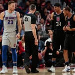 Photos: Clippers 108, Pistons 95