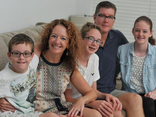 Buddy Walk Cleaver family
