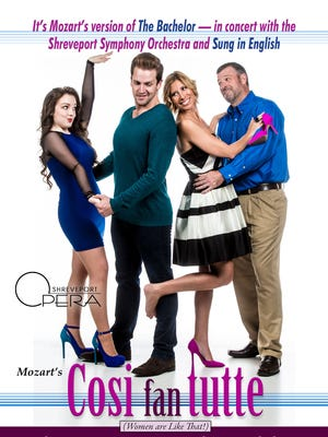 Shreveport Opera closes our its 68th season with Mozart's Cosi fan tutte.