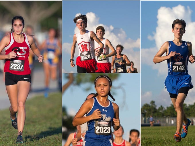 High school cross country teams from throughout Southwest