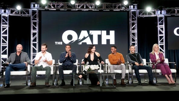 The cast and producers of Crackle's 'The Oath' talk