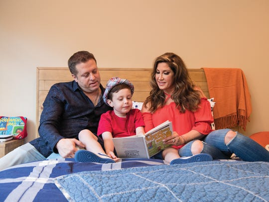 Jacqueline and Chris Laurita with their son Nicholas