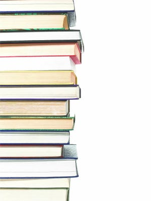 A stock photo of books.