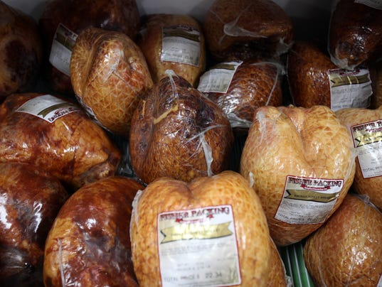 Fisher Meats' smoked turkey breasts