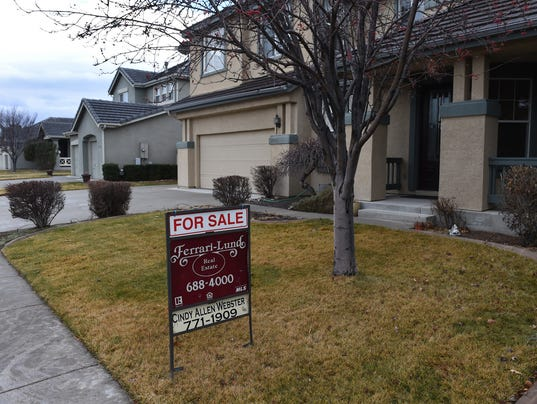 A house for sale in Wingfield Springs in Sparks. (Reno-Sparks real estate and housing)