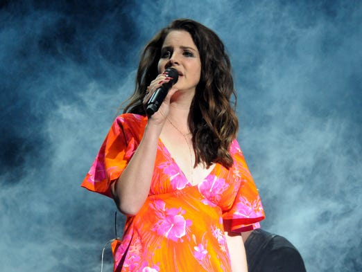 Singer Lana Del Rey performs onstage during day 3 of the 2014 Coachella Valley Music & Arts Festival at the Empire Polo Club on April 13, 2014, in Indio, Calif.