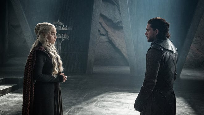 Written material from next week's 'Game of Thrones' could be among HBO data hacked from the network Monday.