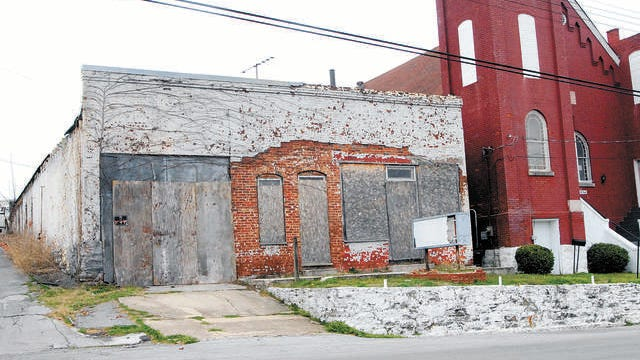 The building which once housed Morton's Funeral Home located at 115 East 8th St. was once a focal point of Columbia's black business district and a gathering point during the Columbia Race Riot. Now the structure is endanger of total collapse.