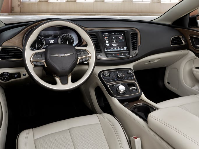 Chrysler has high hopes for its new 200 and its elegant interior