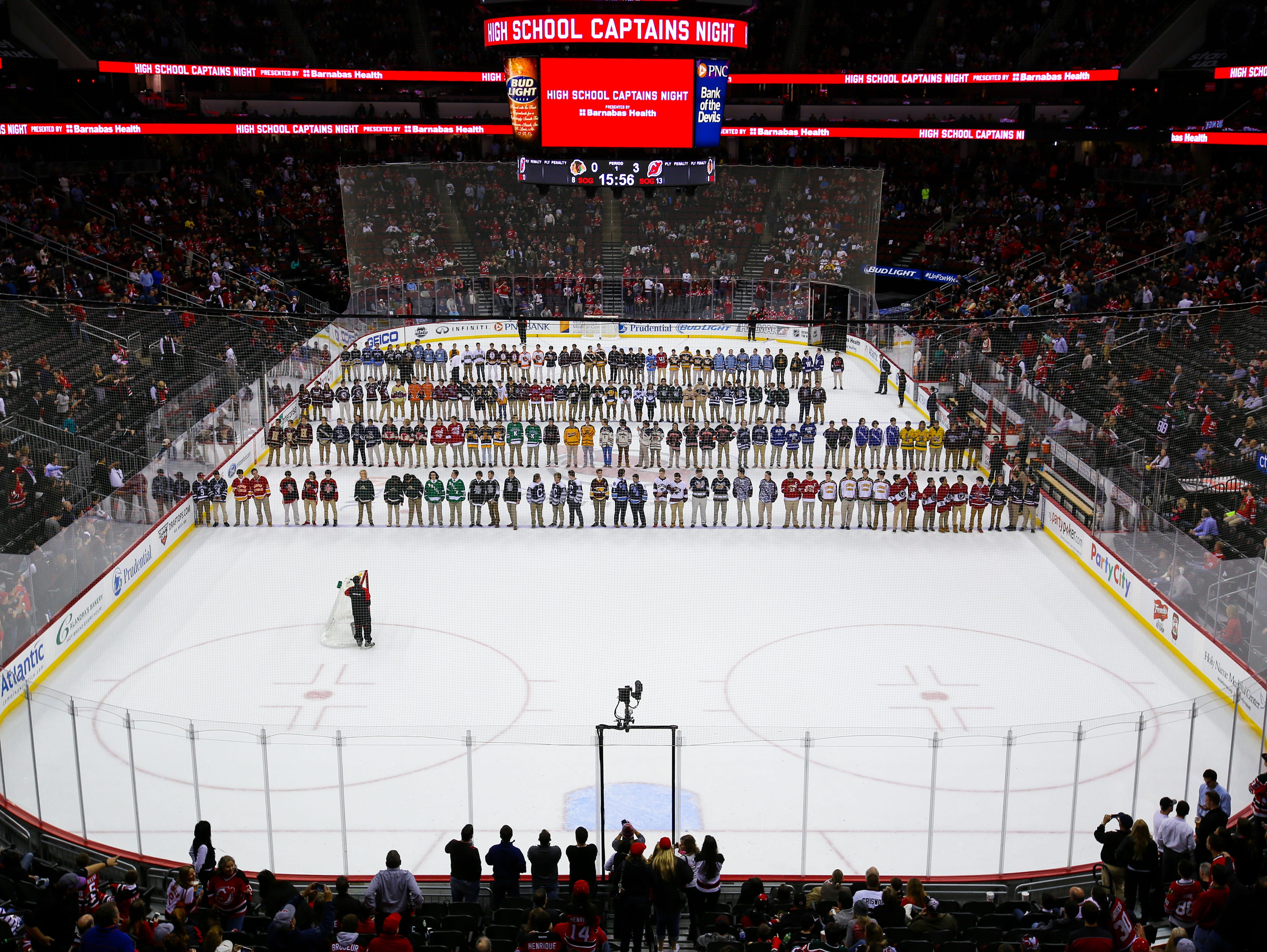 New Jersey High School Hockey captains descended upon the Prudential Center on Nov. 6.