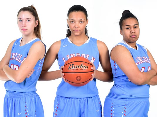 Lincoln girls basketball, media day