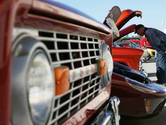 The Cruise-In To Drive Out Domestic Violence Car Show is Oct. 17 in Fort Myers.