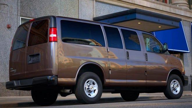 2014 Chevrolet Express Passenger Van