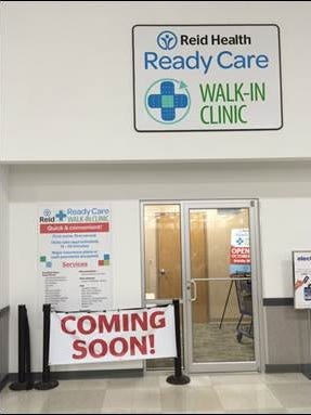 A new walk-in clinic will open Monday at the Richmond Meijer store.