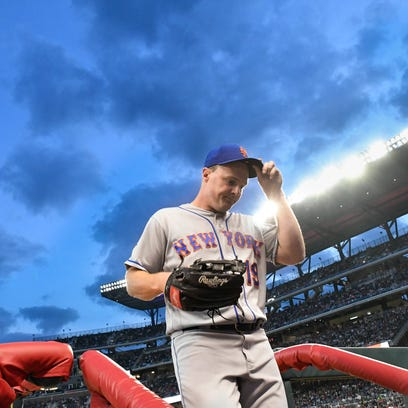 Jay Bruce placed on DL by Mets as decision to play OF backfires