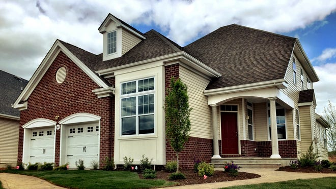 The Belmont is one of the luxury single-family homes fr active-adults age 55 and older at Gateway at Royce Brook in Hillsborough.