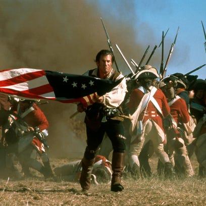 """The Patriot"" (2000) stars Mel Gibson as a Revolutionary"