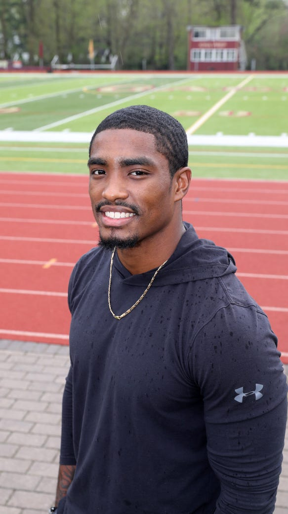 Chris Cooper, the former Iona Prep football star, signed