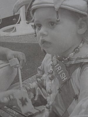 Ava Arnett dressed up as a court jester during the Summer Reading program at UCPL in July 2009.